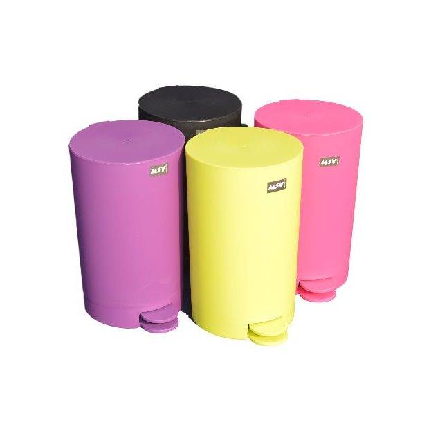MSV Pedalspand i Plast 3 Liter