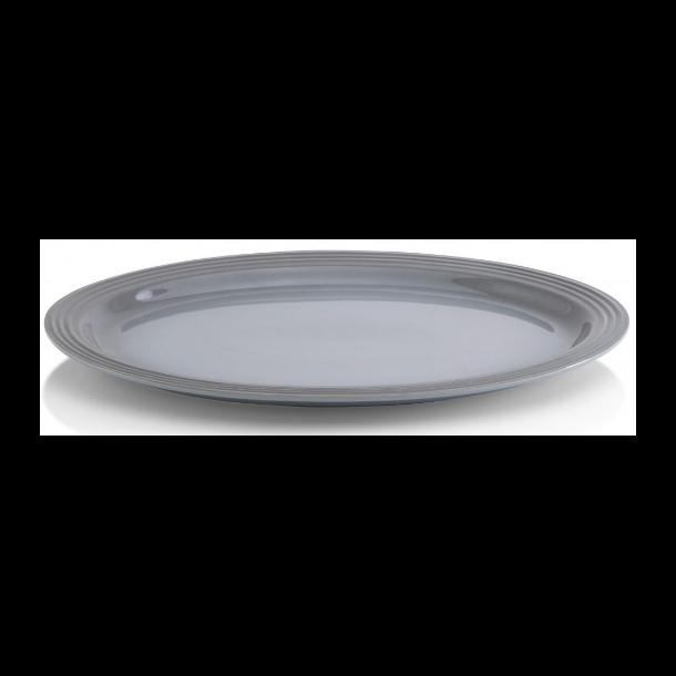 Le Creuset Signature ovalt serveringsfad 46 cm Mist Gray