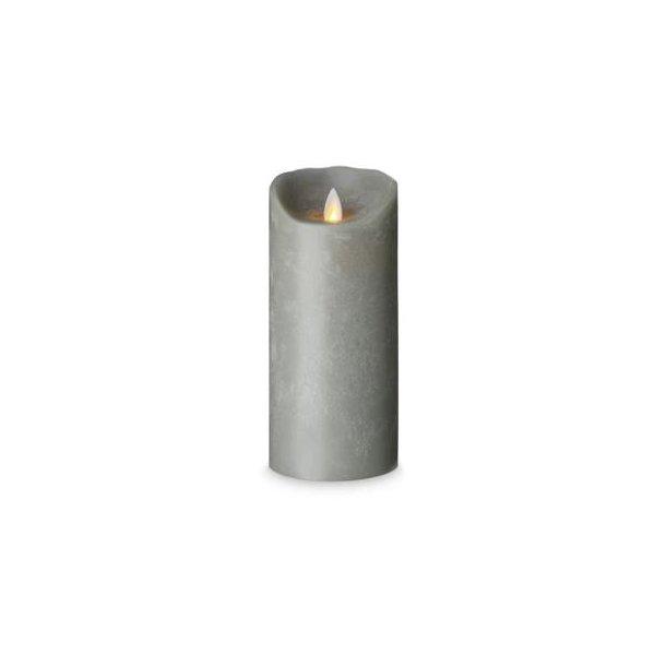 Sompex LED Stearinlys Grå 8 x 18 cm