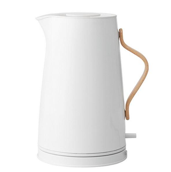 Køb Stelton Emma Elkedel 1,2 Liter - Hvid - Hurtig levering - Gratis fragt ved 500 kr.
