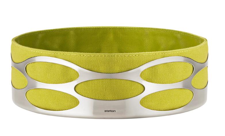 Køb Stelton Embrace Brødbakke Lime - Lav - Hurtig levering - Gratis fragt ved 500 kr.