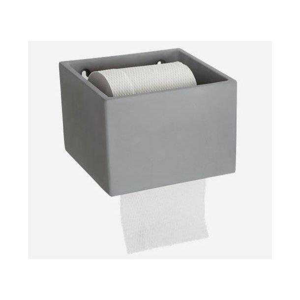 House Doctor Toiletpapirholder, Cement, 14,7x15 cm