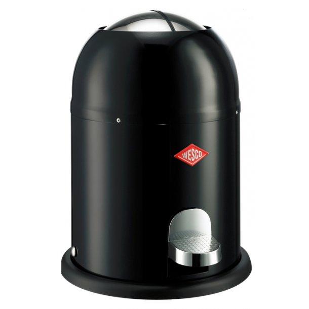 k b wesco single master pedalspand sort 9 liter st rst udvalg af pedalspande. Black Bedroom Furniture Sets. Home Design Ideas