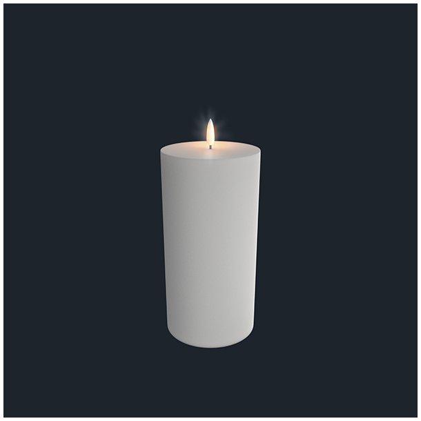 Uyuni Lighting Bloklys Lys - Nordisk Hvid - 10,1 X 20,3 Cm